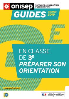 Guide Onisep Rentrée 2019